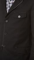 John Varvatos 5B Notch Lapel Jacket