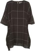 YMC Grid T-shirt Dress