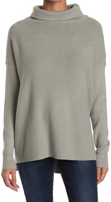 Devotion By Cyrus Cowlneck Ribbed Tunic Sweater