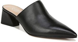 Franco Sarto Rianan Leather Block Heel Mule