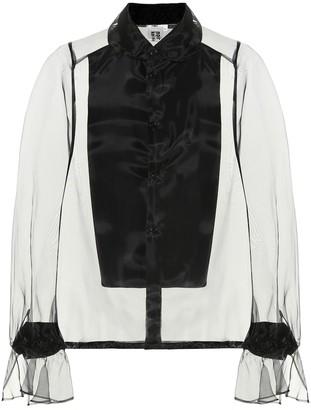 Noir Kei Ninomiya Organza blouse
