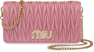 Miu Miu Matelasse mini-bag