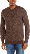 Alex Cannon Men's Madison V-Neck Sweater