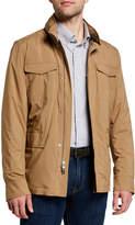 Peter Millar Men's Discovery All-Weather Zip-Front Jacket