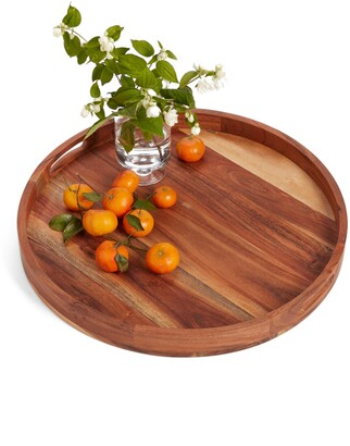 Nordstrom at Home Large Round Acacia Wood Serving Tray