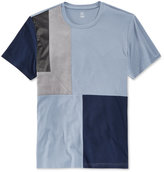 INC International Concepts Men's Kramer Colorblocked Faux Suede T-Shirt, Only at Macy's