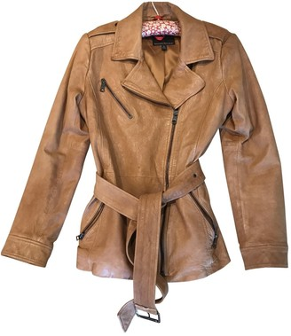 Banana Republic Brown Leather Jacket for Women