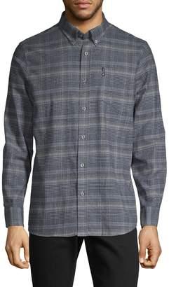 Ben Sherman Checkered Long-Sleeve Shirt