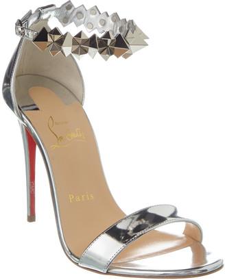 Christian Louboutin Planetava 100 Patent Sandal
