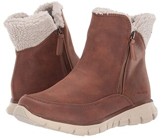 Skechers Synergy - COLLAB (Chestnut) Women's Shoes