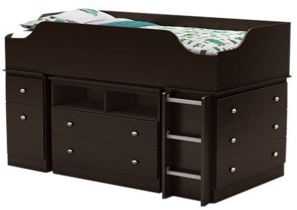 South Shore Treehouse Collection Chest- Chocolate