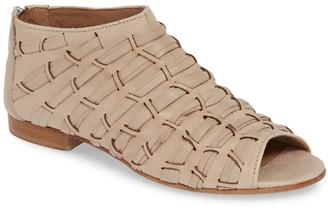 Ron White Ribbon Weave Bootie Sandal