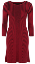 George Ribbed Knitted Dress