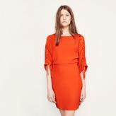 Maje Tunic dress with drawstrings