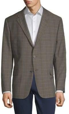 Hickey Freeman Milburn Plaid Sportcoat