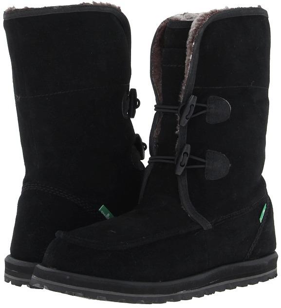 Sanuk Horizon Primo (Black) - Footwear
