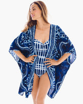 Chico's Square Kimono Swim Cover up