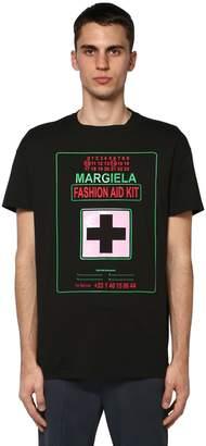 Maison Margiela LOGO FASHION AID KIT JERSEY T-SHIRT