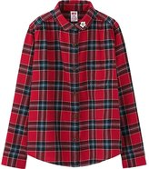 Uniqlo Girls Disney Collection Flannel Long Sleeve Shirt