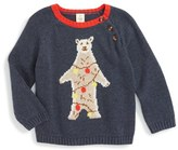 Infant Boy's Tucker + Tate Cotton & Cashmere Sweater