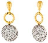 Gurhan Lentil Pavé Diamond Earrings
