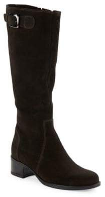 La Canadienne Hannah Waterproof Suede Riding Boots
