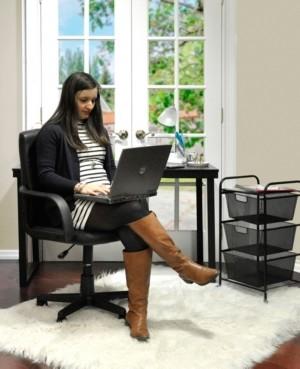 Idea Nuova Urban Living Tufted Office Chair