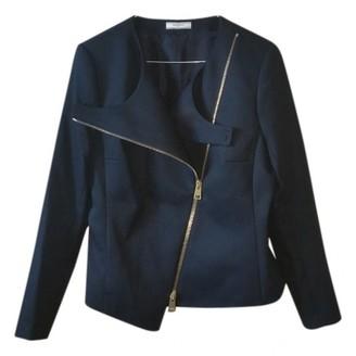 Bouchra Jarrar Black Wool Jacket for Women