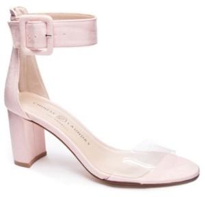 Chinese Laundry Reggie Block Heel Dress Sandals Women's Shoes