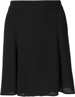 Reformation Flounce mini skirt
