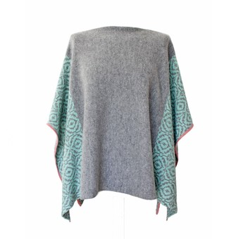 Desen Mint Slouch Cape