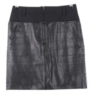 3.1 Phillip Lim Black Leather Skirt for Women