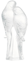 Lalique Two Parrots Figurine