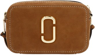 Marc Jacobs The Softshot 21 Suede Crossbody Bag
