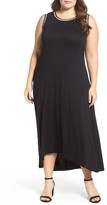 Vince Camuto Plus Size Women's Embroidered High/low Dress
