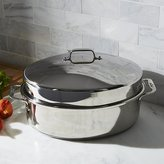 Crate & Barrel All-Clad ® Oval Roasting Pan with Lid