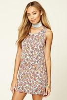 Forever 21 FOREVER 21+ Floral Mini Dress