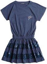 GUESS Short-Sleeve Logo Dress (7-16)