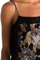 Anna Sui RUNWAY Nuits De Paris Sequin Mesh and Lace Dress