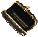 Alexander McQueen Stud & Ring Harness Skull Box Clutch