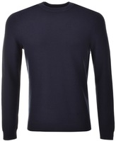 Ted Baker Crew Neck Marlin Jumper Navy