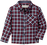Sovereign Code Urban Plaid Shirt (Baby Boys)