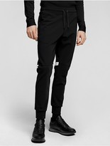 Calvin Klein Collection Performance Jersey Jogger With Nylon Trim