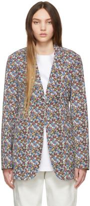 Victoria Beckham Multicolor Masculine Blazer