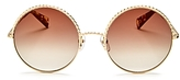 Marc Jacobs Round Sunglasses, 57mm