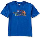 The North Face Big Boys 8-20 Logo Graphic Short-Sleeve Tee