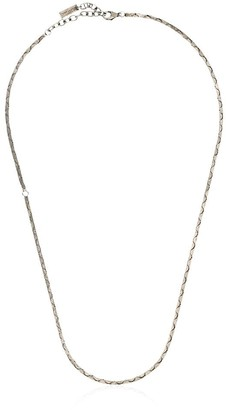 razor chain necklace