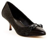 Donald J Pliner Gabardine Stretch Pump