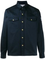 Moncler Gamme Bleu shirt jacket - men - Cotton/Cupro/Wool - 2