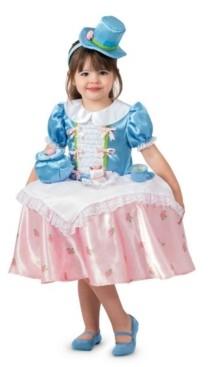 BuySeasons Big Girl's Tea Party Table Top Child Costume